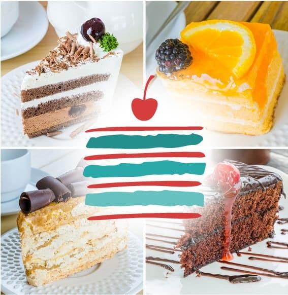 selezione di torte